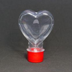 Baleiro Coração c/tp Plástica