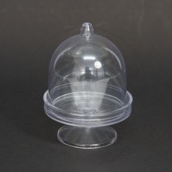 Mini Cúpula Acrílica Cristal pct c/10