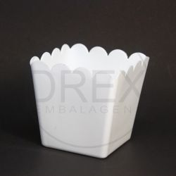 Cachepot de Plástico Quadrado (kit 10un)