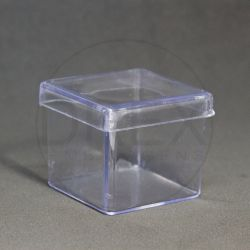 Caixinha Acrílica 5x5 Cristal pct c/12