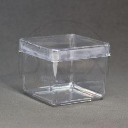 Caixinha Acrílica 6x6 Cristal pct c/10