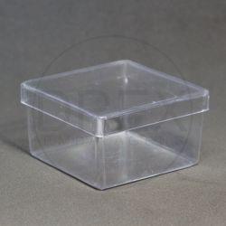Caixinha Acrílica 7x7 Cristal pct c/10