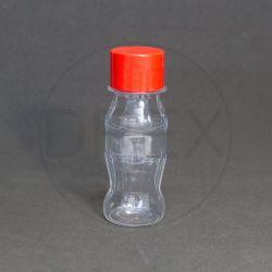 Garrafinha PET 50ml (MCK) c/tp Plástica