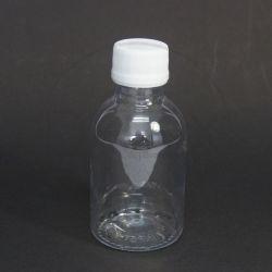 Frasco PET Cilíndrico 100ml c/tp Plástica Lacre