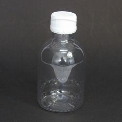 Frasco PET Farma 120ml c/ Tampa Plástica Lacre