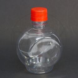 Frasco PET Gourmet 300ml c/ Tampa Plástica Lacre