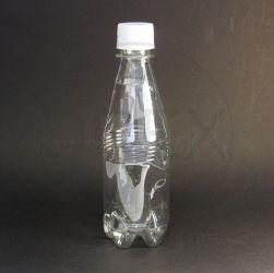 Frasco PET 300ml (Agua) c/tp Plástica Lacre