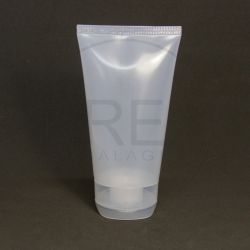 Bisnaga Plástica 150ml Transparente c/tp Flip Top Grande
