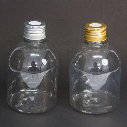 Frasco PET Saboneteira 320ml c/ Tampa Difusor Alumínio