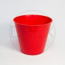 Cachepot de Plástico Redondo (kit 10un)