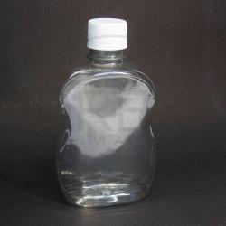 Frasco PET Cinturado 250ml c/ Tampa Plástica Lacre