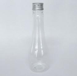 Frasco PET Champanhe 120ml c/ Tampa Alumínio